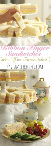 25+ best ideas about Party Finger Sandwiches on Pinterest ...