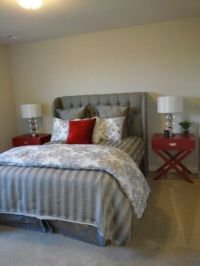 10+ best ideas about Grey Red Bedrooms on Pinterest | Red ...