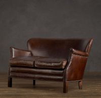 Professor's Leather Double Chair | House + Ware ...