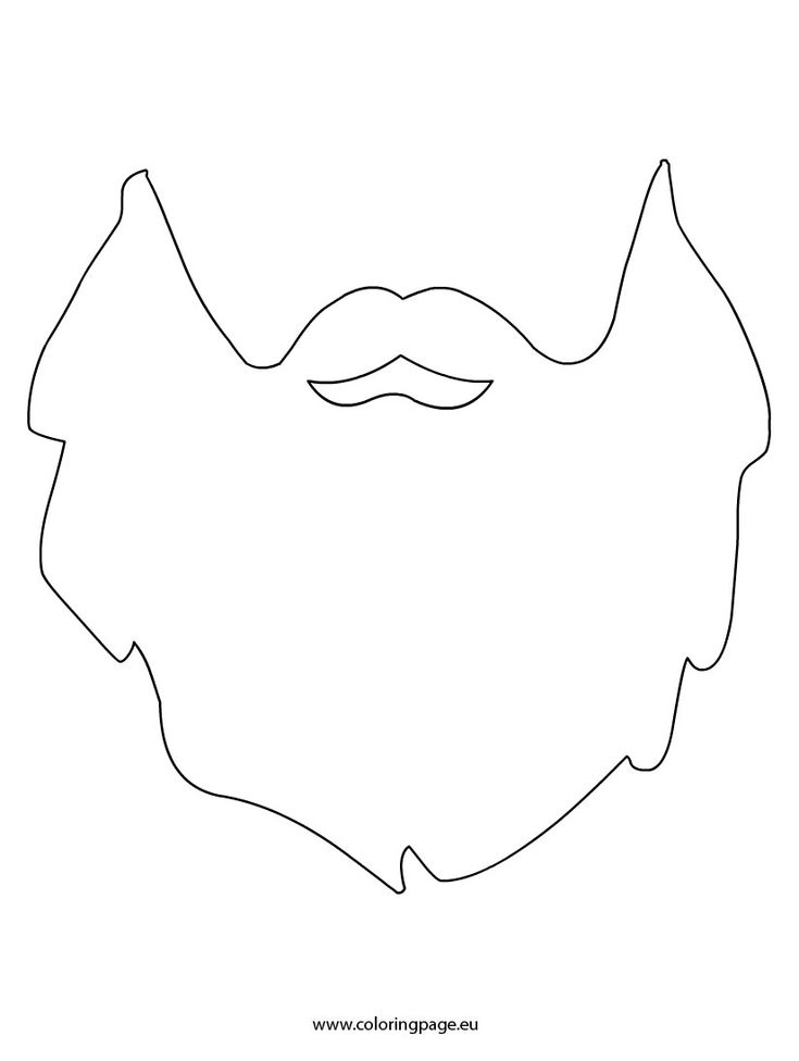 photograph relating to Beard Template Printable identified as √ Bart Schneiden Muster Absolutely free Printable Child Bib Layouts
