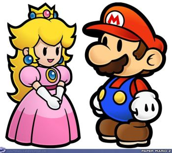 Image result for peach and mario