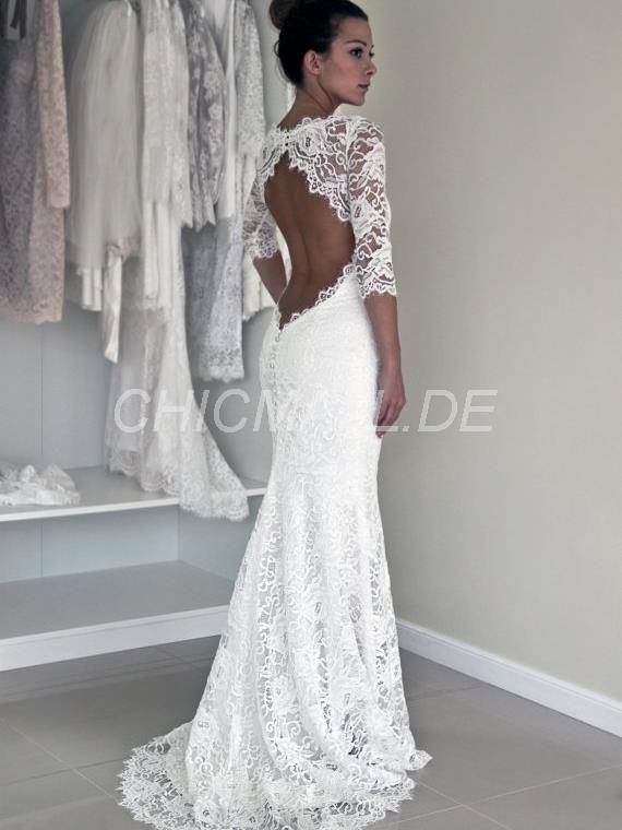 Più Di 25 Fantastiche Idee Su Hochzeitskleid Rückenfrei Spitze Su