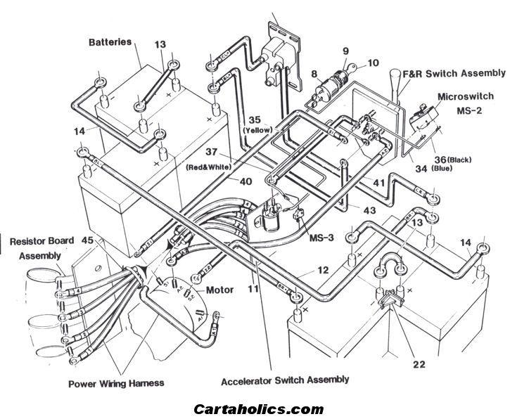 1993 ezgo marathon wiring diagram