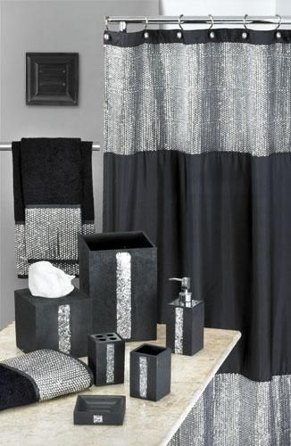 25 Best Ideas About Black Shower Curtains On Pinterest Red