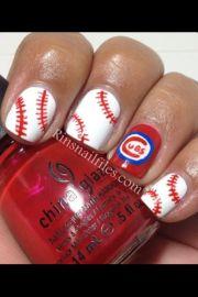 1000 ideas baseball nail