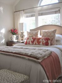 Best 25+ Neutral bedrooms with pop of color ideas on Pinterest