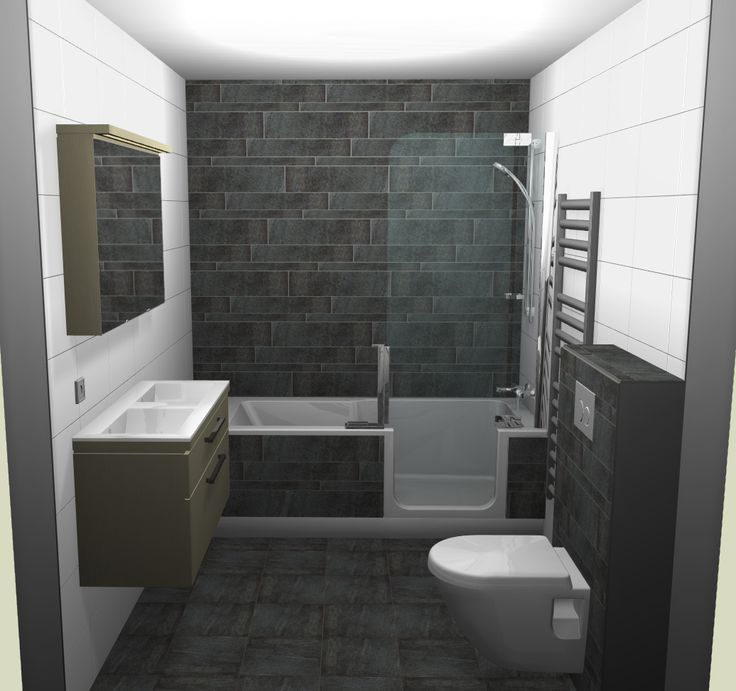 Badkamer Voorbeeld Met Douche En Bad In 1 Zou Wel Andere
