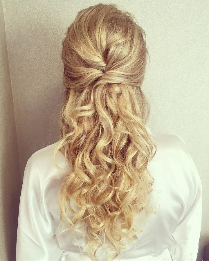 Top 3 Half Up Half Down Wedding Hairstyles to Try