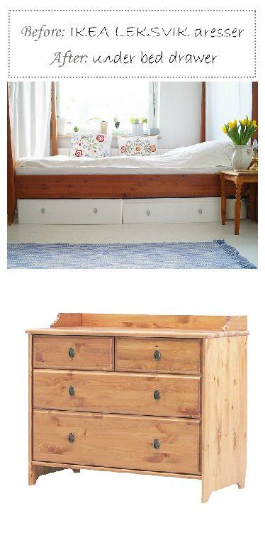 17 Best ideas about Under Bed Drawers on Pinterest  Under bed storage Under bed and Drawer ideas