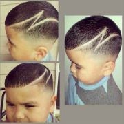 boy haircut design
