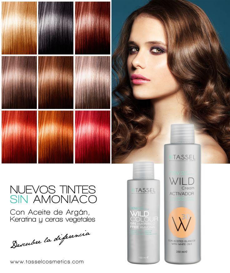 Nueva lnea de tintes Tassel SIN Amoniaco 16 colores Con