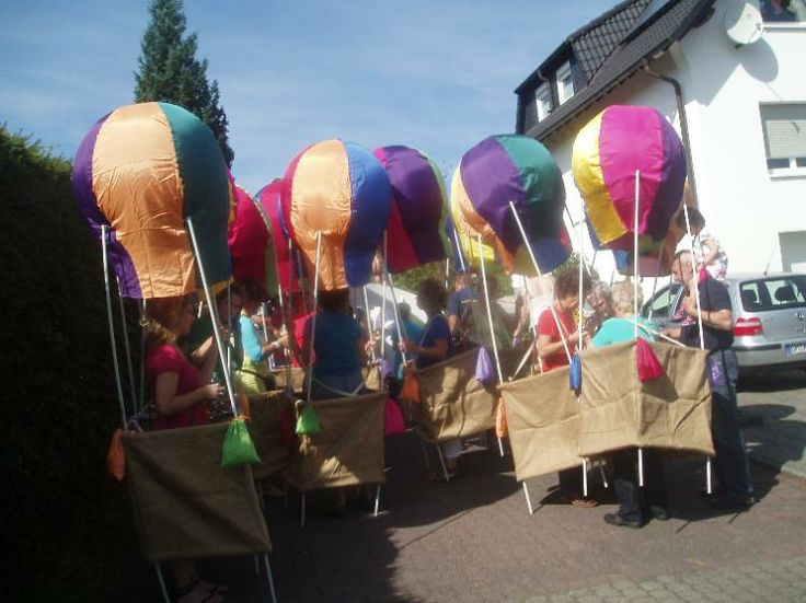 Ballon Kost 252 M Mit Korb M Karneval Fasching