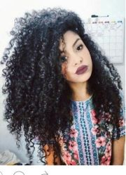 steffany borges #curlyhair #black