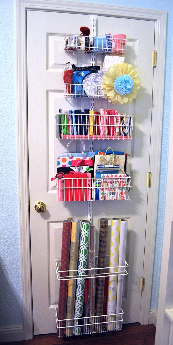 17 Best Ideas About Wrapping Paper Station On Pinterest
