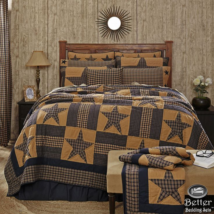 25+ best ideas about Primitive bedding on Pinterest
