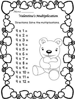 1000+ ideas about Multiplication Facts Worksheets on