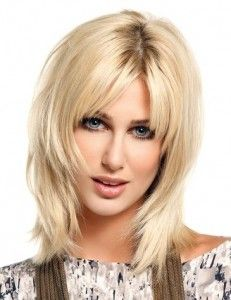 Best 25 Frisuren Mittellang Gestuft Ideas On Pinterest