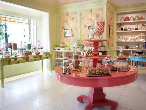 Miette Candy and Cake shopSan Fran Bakery Interior