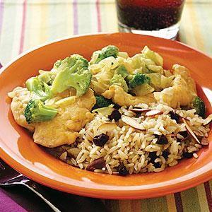 #Creamy #Chicken and #Broccoli #Curry | MyRecipes.com: