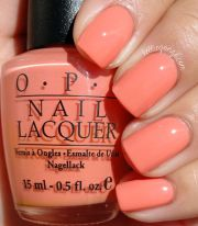 peach nail polish ideas