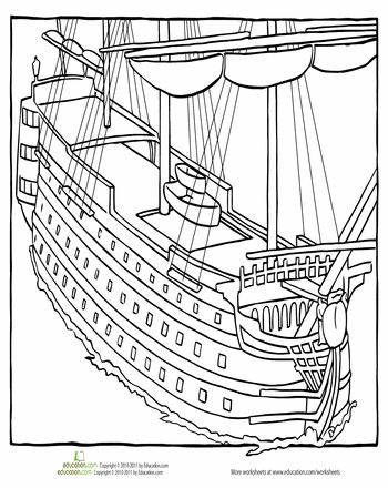366 best images about Educational Coloring Pages For Kids