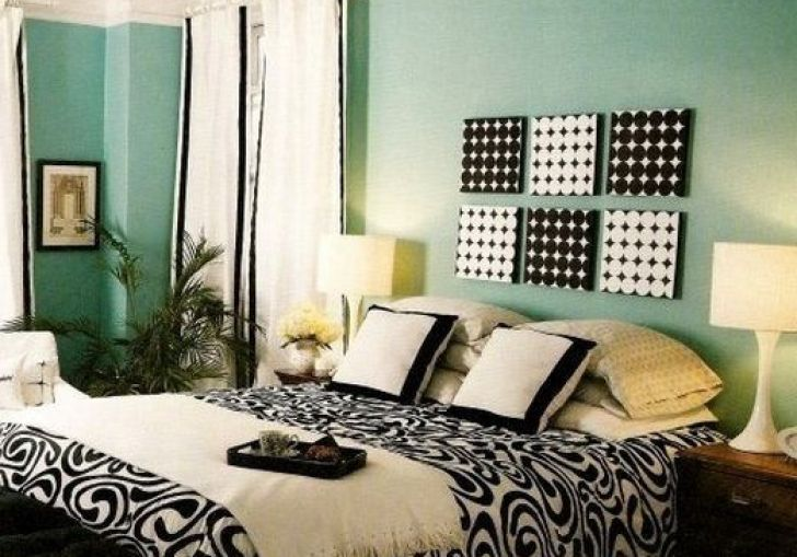 Mint Black And White Bedroom Ideas