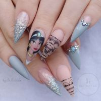 215 best images about Disney Inspired Nails and Makeup on