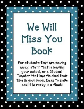 Have A Student That Is Moving Away Is A Staff Member