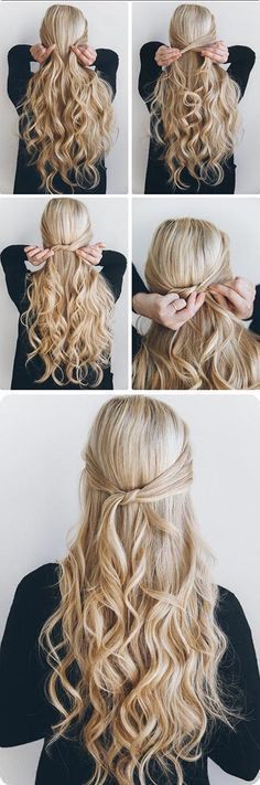 25 Best Ideas About Long Hair Tutorials On Pinterest Long Hair