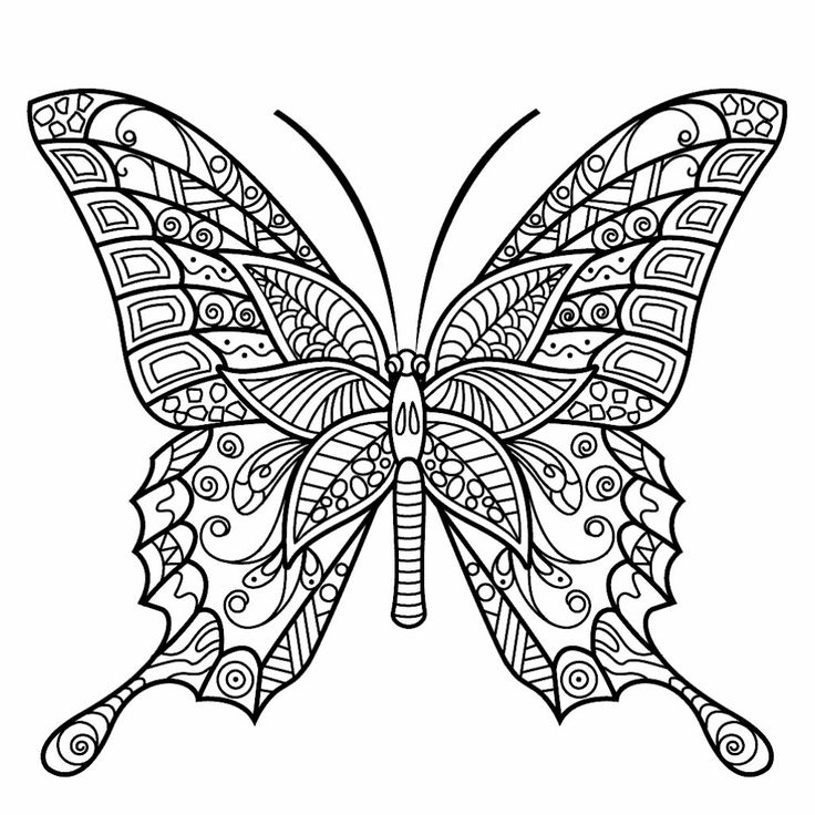 Printable Coloring Pages Of Dragonflies