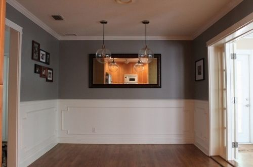 dark wood dining room chairs the chronicles of narnia silver chair film gray room- glidden's granite | before and after pinterest o'jays, ...