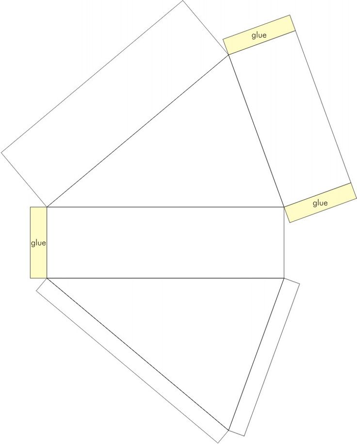 Free Circular Cake Slice Box template; click onto image to