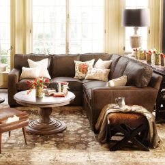 Arhaus Leather Sofa With Chaise Lounge Best 20+ Brown Sectional Ideas On Pinterest | ...