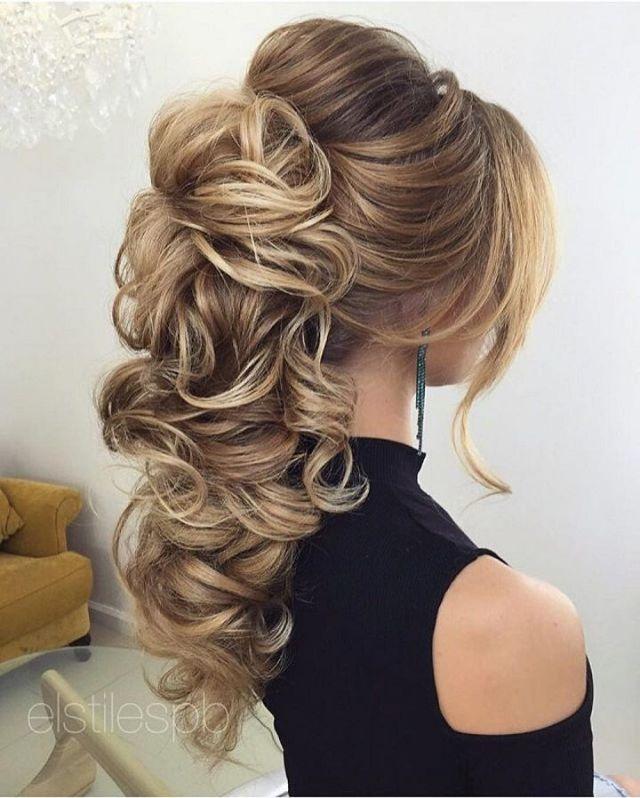 Best 20 Wedding ponytail  ideas  on Pinterest Bridesmaid