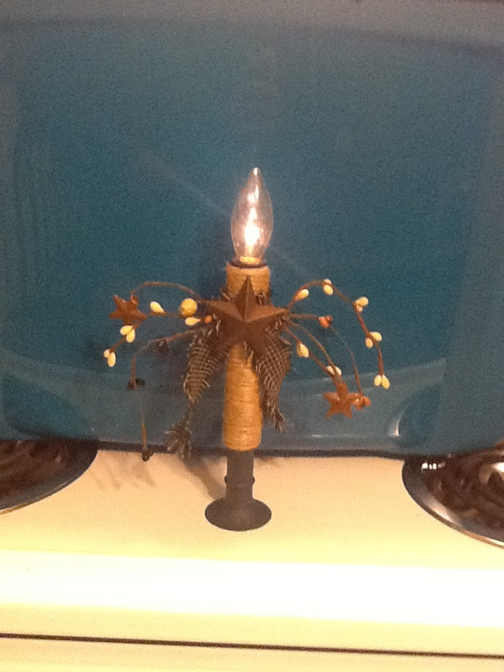 224 Best Primitive Electric Candles Images On Pinterest