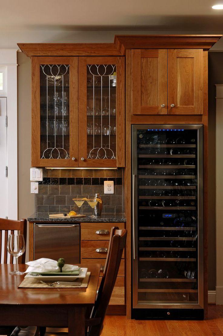 Built in wine fridge  Home  Pinterest  Wine fridge Wet