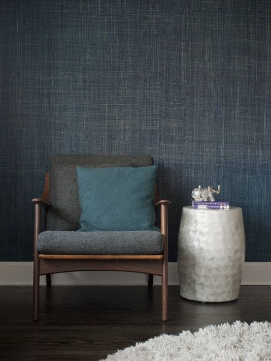 navy blue and grey living room decor paint color schemes 25+ best ideas about seagrass wallpaper on pinterest ...