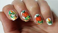 25+ best ideas about Thanksgiving Nail Art on Pinterest ...