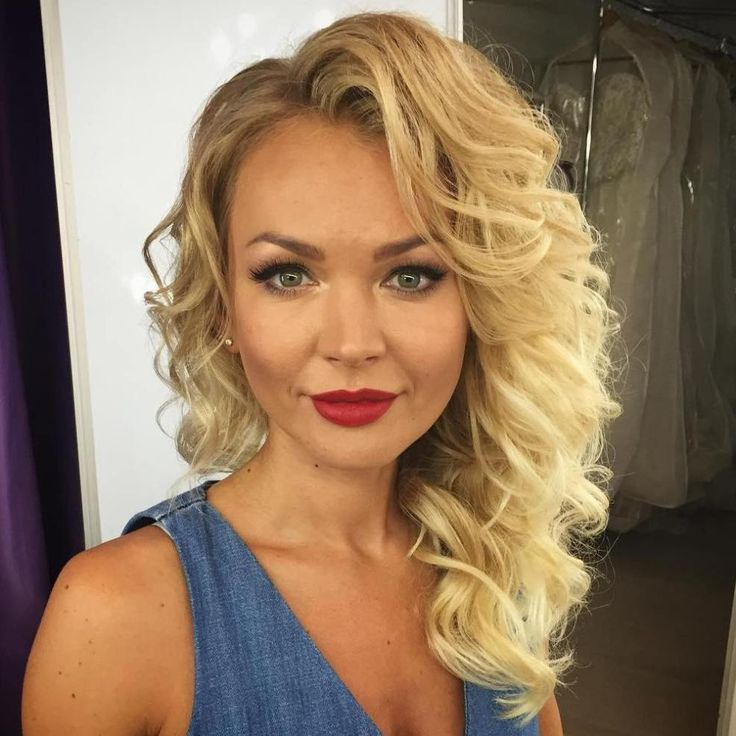 25 Best Ideas About Side Curly Hairstyles On Pinterest Side