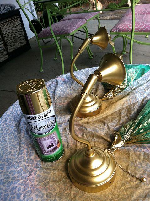 Best Gold Spray Paint Via Belladwella Crafty Pinterest