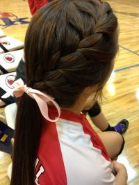 25+ Best Ideas about Cute Volleyball Hair on Pinterest ...
