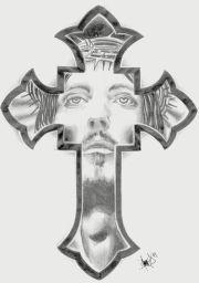 cross tattoo christ productos