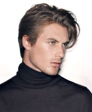 men haircut in stylemens hairstyles