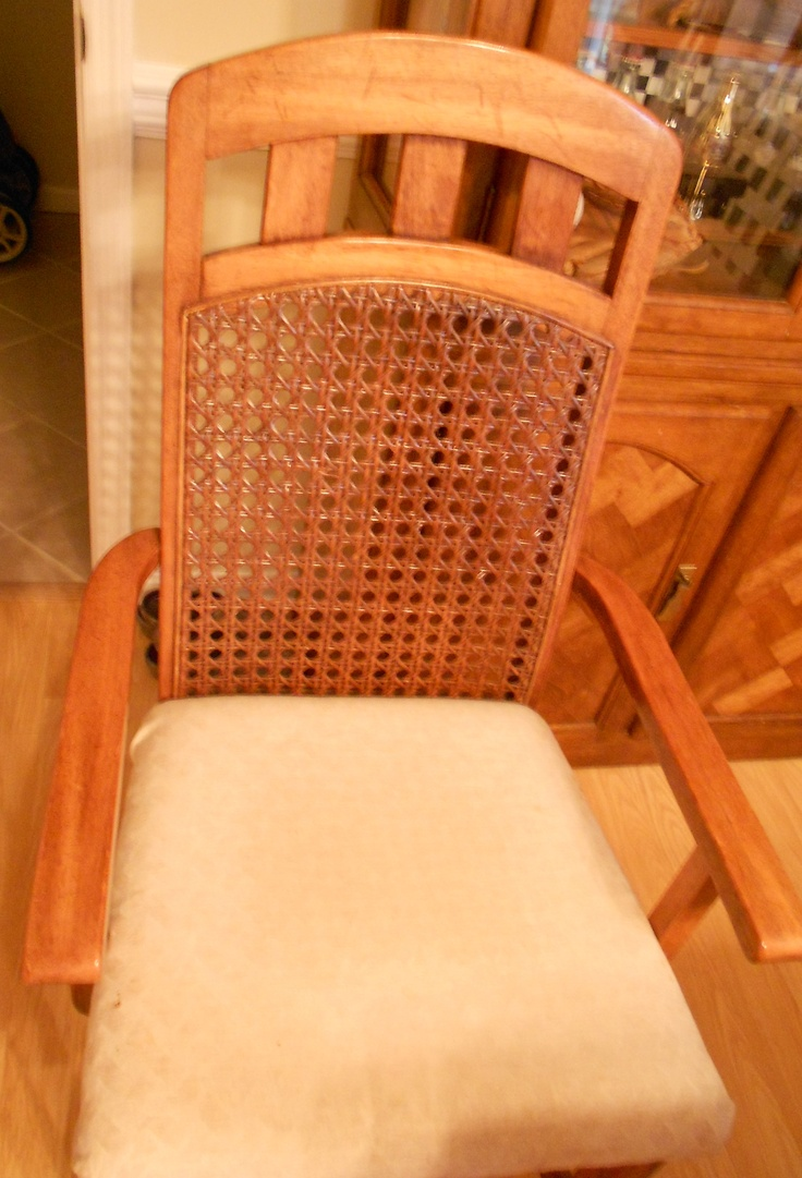 Recaning A Chair