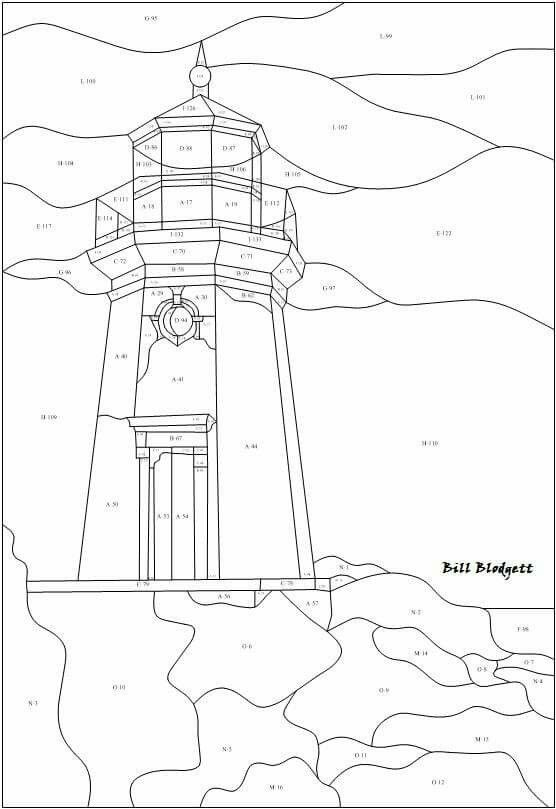 64 best images about Stained Glass Lighthouse on Pinterest
