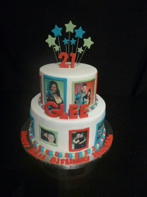 17 Best Images About Glee Cakes On Pinterest Birthday