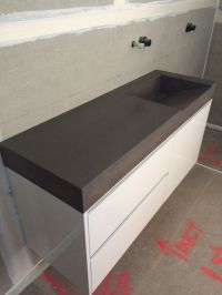 1000+ images about Polished Concrete Bathroom Vanities on ...