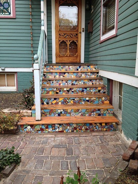 18 best images about front step ideas on Pinterest
