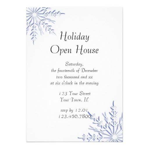 1000+ images about Holiday Open House Invitations on