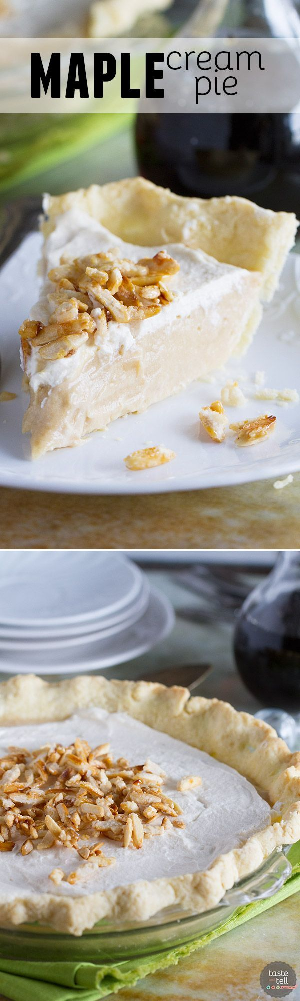 maple cream cream pies and pie recipes on pinterest